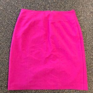 Worthington - Bright Pink Pencil Skirt